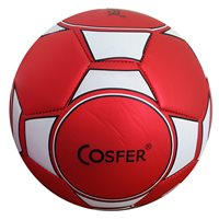 Cosfer Cosfer Ftm-7 Kırmızı Beyaz Futbol Topu Futbol Topu