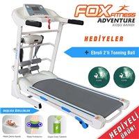 Fox Fitness Fox Fitness Adventure Masaj Fonksiyonlu Koşu Bandı Koşu Bandı