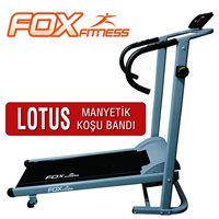 Fox Fitness Fox Fitness Lotus Motorsuz Manyetik Koşu Bandı Koşu Bandı