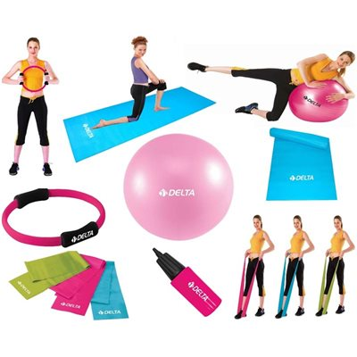 Delta Pc85 Cm Full Kombinasyonlu Pilates Seti