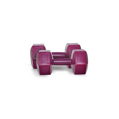Dynamic 6 kg Fashion Plastik Dumbbell