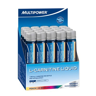 Multipower L-Carnitine Liquid Forte 20 Ampul