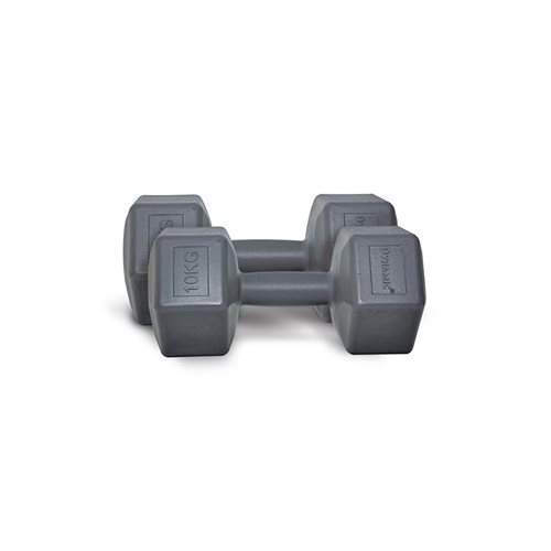 Dynamic 10 kg Fashion Plastik Dumbbell