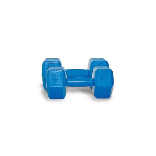 Dynamic 4 Kg Fashion Plastik Dumbbell
