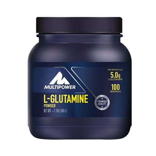Multipower L-Glutamine Powder 500 Gr