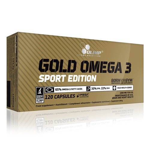 Olimp Gold Omega 3 Sport Edition 120 Kapsul